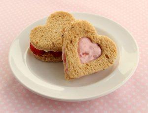 Valentine's Day sandwich recipes