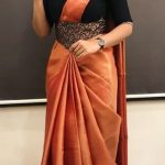 Wear saree with belts