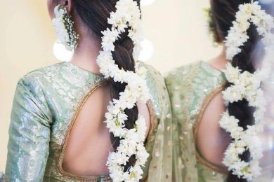 6 Hairstyle Ideas For The Brides To Be, Which Can Be Used For The Mehndi Function