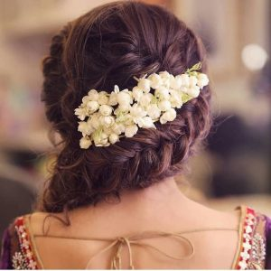 Hairstyle ideas for Mehndi ceremony