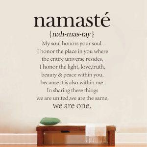 Benefits and importance of Namaste