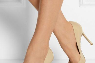 Nude footwear color guide
