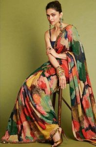 Sequence saree in Bollywood