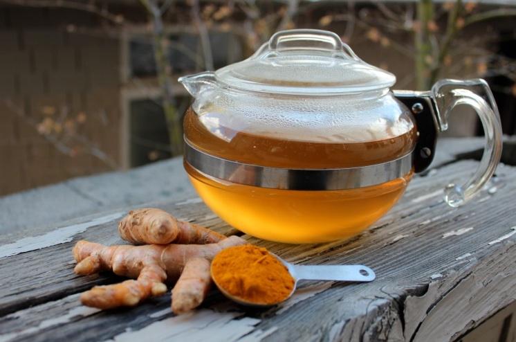Turmeric tea immunity booster drinks