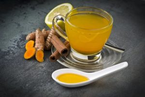 Turmeric tea immunity booster drinks