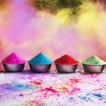 Make Holi Colors At Home Using Cornstarch And Food Colors