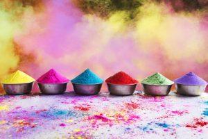 Make natural holi colors at home