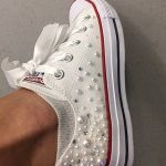 Embellishing white sneakers DIY-Threads-WeRIndia