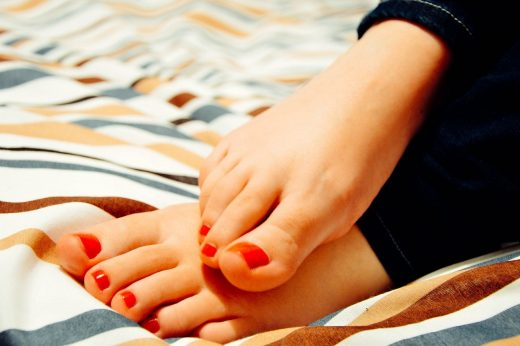Foot Care Regime For Summers