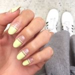 6 Cool French Manicure Designs You Can Create Using Colored Nail Paints