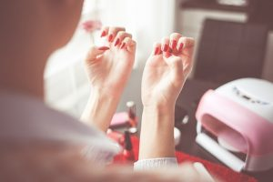 Habits which are bad for nail health
