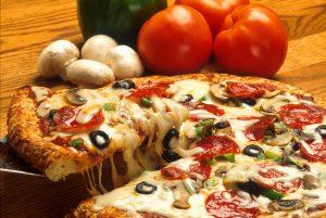 Homemade no yeast, no cheese pizza recipe