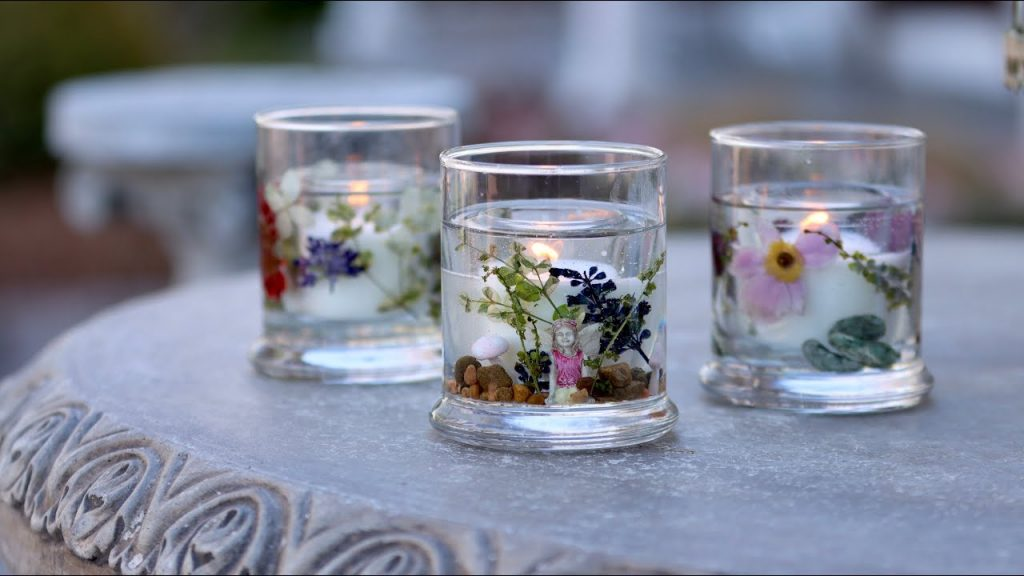 Ideas to use dried flowers