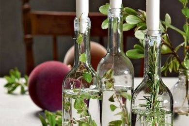 7 Ways To Reuse Glass Bottles