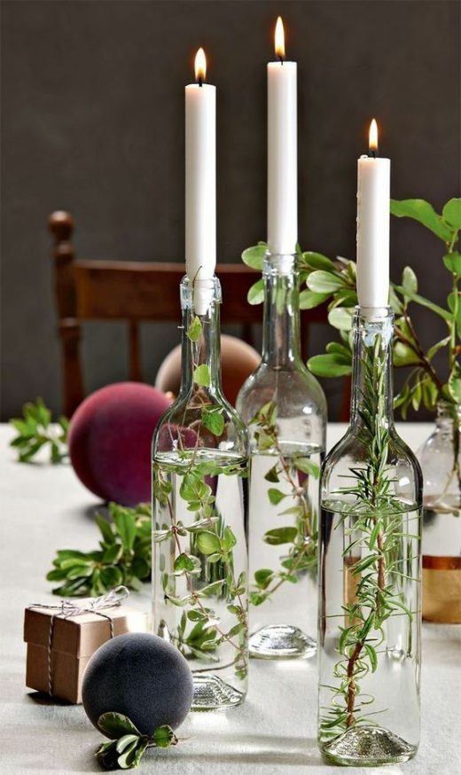 Reuse old glass jars