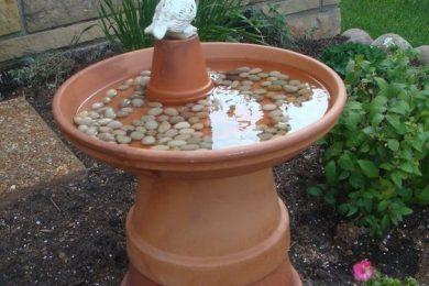 Making Bird bath ideas