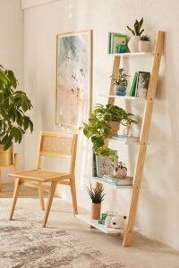 Use ladder for home decor