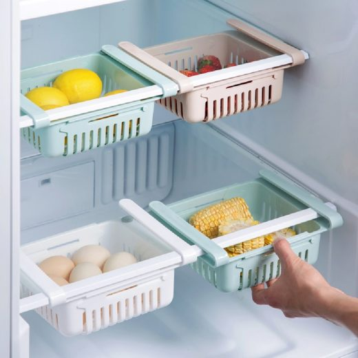 Keep fridge clean and organised