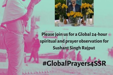Shweta Singh Kirti calls out for #GlobalPrayers4SSR- 10:00 am on 15th August