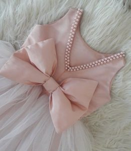 Bow detail for dresses
