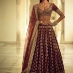 Contemporary Lehnga Choli Designs In Brocade