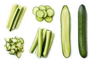 Cut cucumbers like a pro
