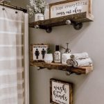 Using Floating Shelves For Bathroom's
