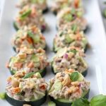 Cucumber Bites: 6 Healthy Party Snacks Ideas