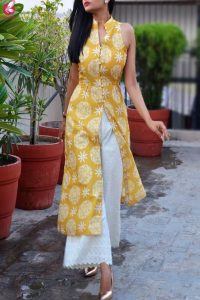 Different palazzo pants to wear with a kurta