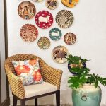 Home decor ideas with decorative ceramic plates