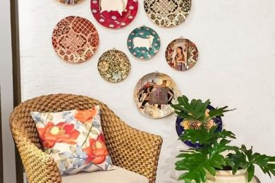Home decor ideas with decorative ceramic plates