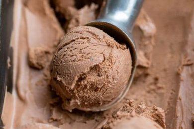 Homemade no cook Chocolate ice cream recipe