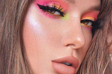 6 Ways To Rock The Neon Eye Makeup Look