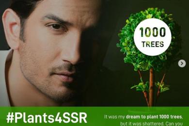 #Plant4SSR, fulfilling Sushant Singh Rajput's dream to plant 1000 trees-Threads-WeRIndia
