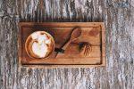 Soy milk latte