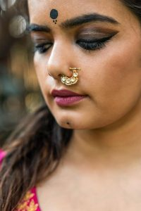 Black bindi designs and looks