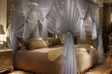 4 Ways To Give Your Canopy Bed A Personalized Contemporary Touch