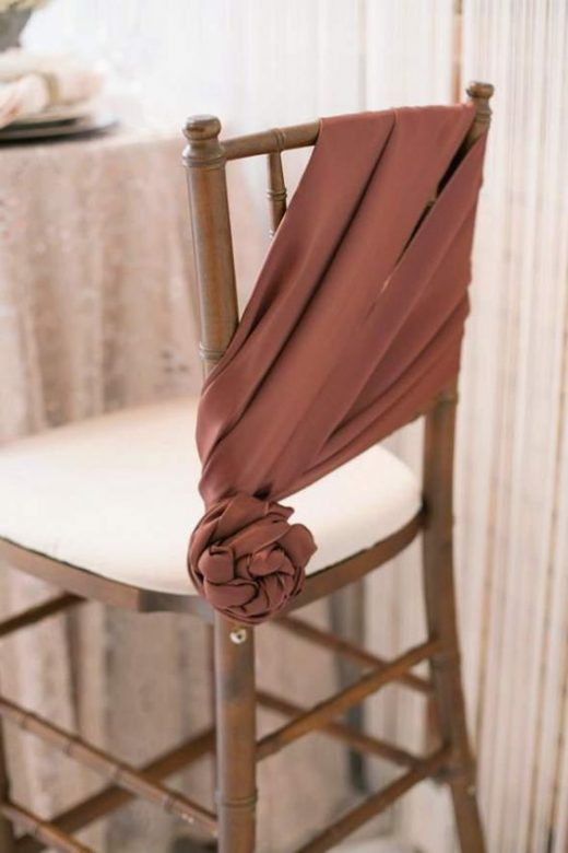 Ways To Decorate And Drape A Chair