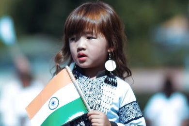 Proud Of You Esther Hnamte- A Four Year Old Girl From Mizoram Sings Vande Matram And We Just Love Her Voice