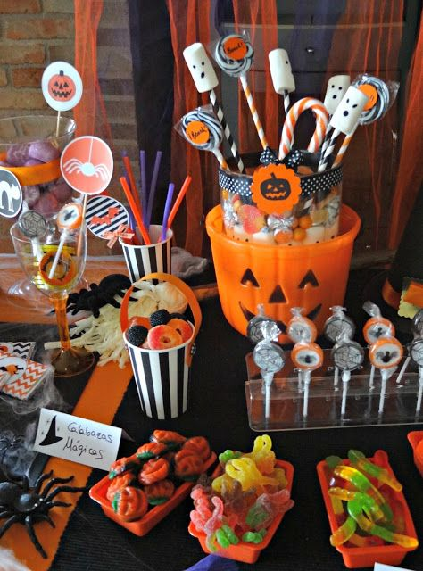 Halloween food presentation ideas