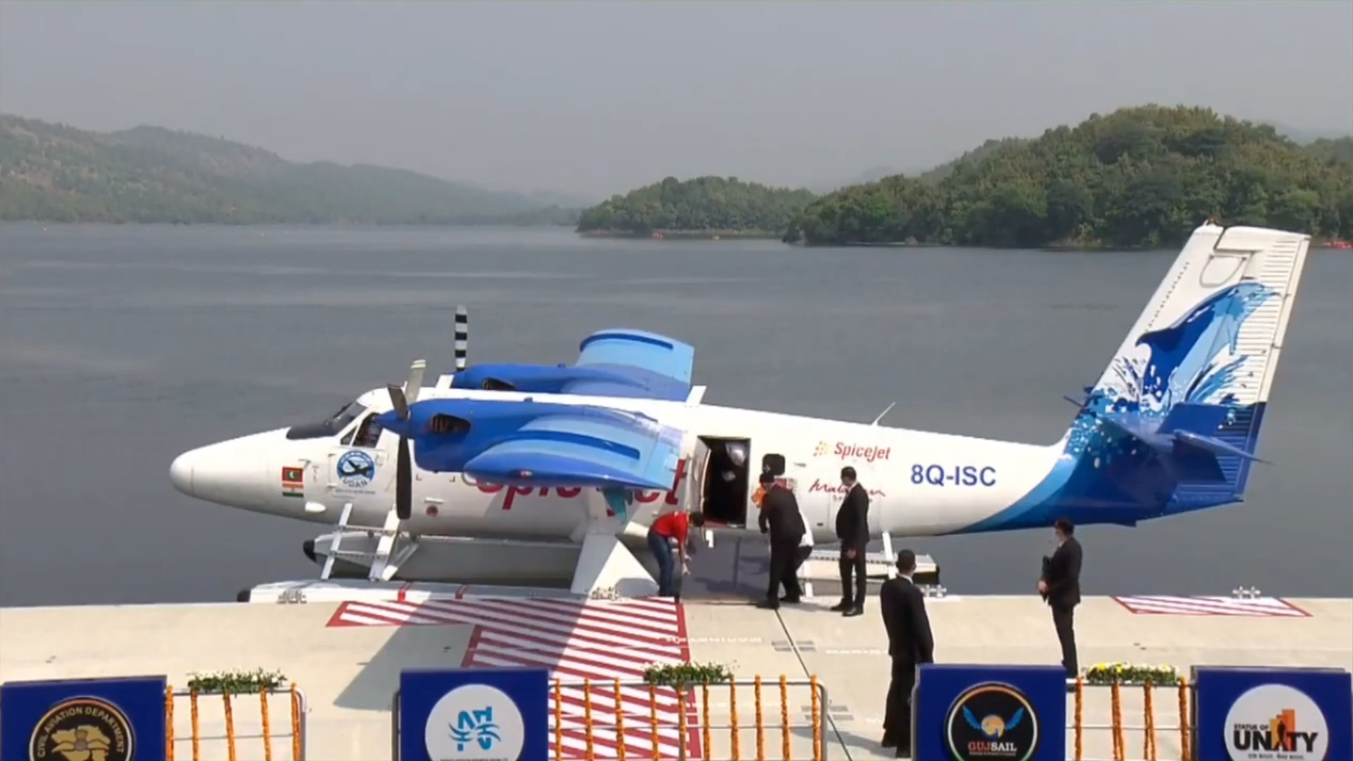 PM Modi launches India's first sea plane service in Gujarat