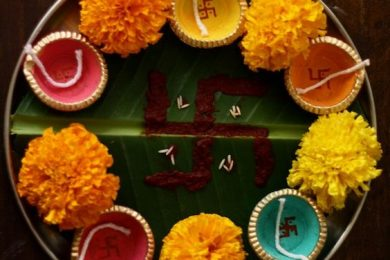 4 Ways To Decorate Pooja Thali For Navratri