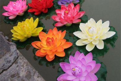 4 Ways To Decorate Home With Artificial Lotus Flowers