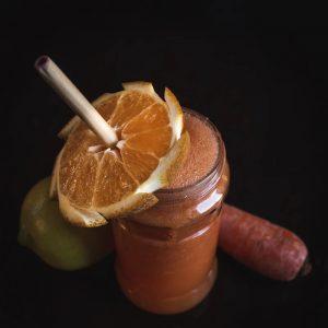 Apple carrot orange juice for winters