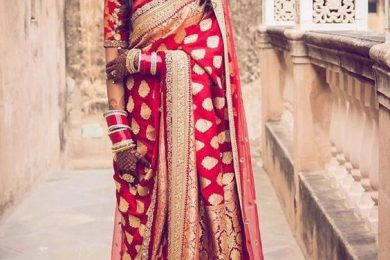 4 Bridal Saree Outfits For The New Age Brides
