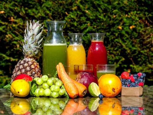 Fruits and vegetable Juice recipes for winters