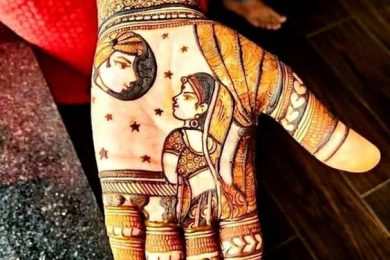 Karwachauth mehndi designs-Threads-WeRIndia