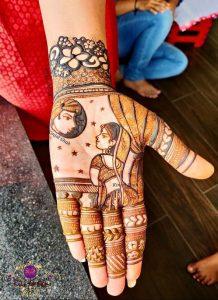 Karwachauth mehndi designs