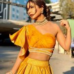 4 One Shoulder Blouse Designs To Try With A Regular Lehnga