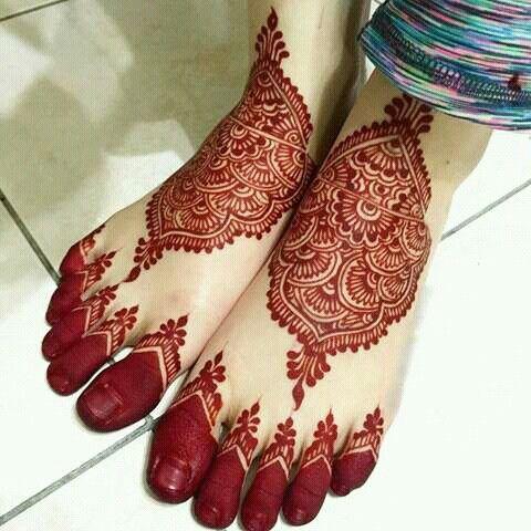 Heena Designs for feet